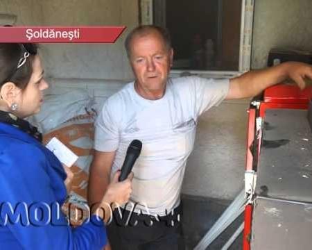 MOLDOVA+  Își încălzesc casa cu deșeuri agricole