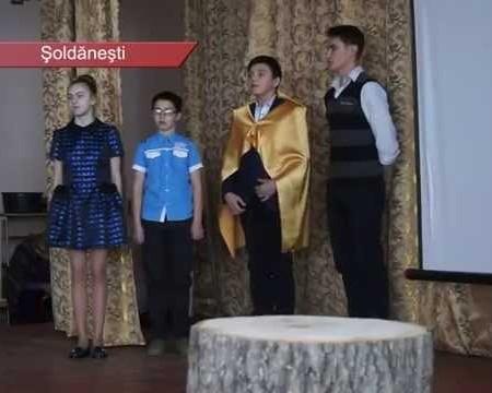 Copiii, pe urmele celebrităților din Șoldănești
