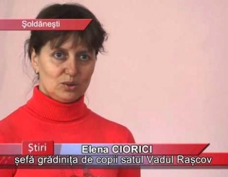 La Vadul Rașcov, grădinița de copii a fost transformată în câmp de luptă pentru maturi