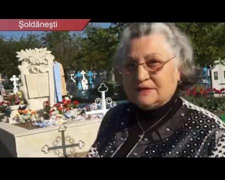 Nucul, răsădit la casa de veci a lui Dumitru MATCOVSCHI