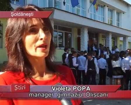 Liceul de la Olișcani, reorganizat