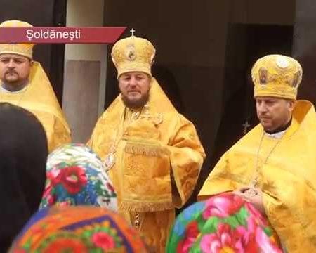 Reparată și sfințită, după decenii de slujbă, biserica din Olișcani