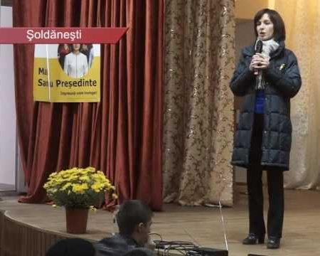 Maia SANDU: sarcina primordială e să combatem corupția