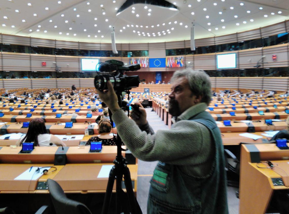 Jurnaliști din Șoldănești, în vizită la PARLAMENTUL EUROPEAN