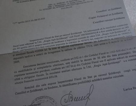 In mai 2015, FISCul din Șoldănești amenința despre criza de la REGIE. Cine a încercat să amelioreze situația?