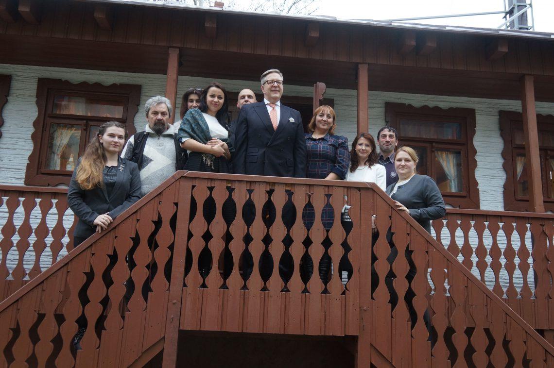 Pirkka Tapiola, întrevedere cu jurnaliști regionali
