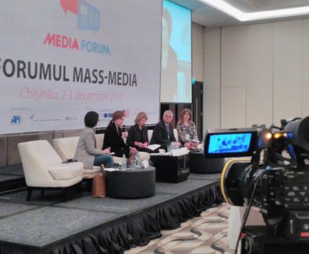 Jurnaliștii din Moldova, convocați la Forumul 2016