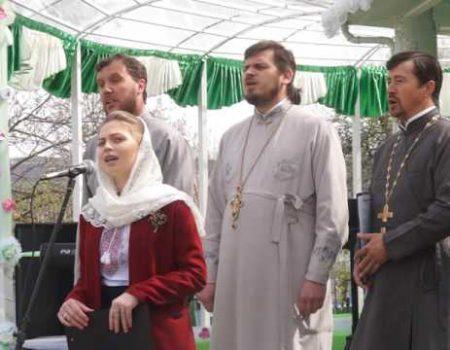Laude Domnului, la festivalul cântecului pascal, la mănăstirea Cușelăuca