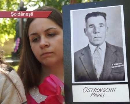 Marșul memoriei, cu fotografii ale eroilor căzuți