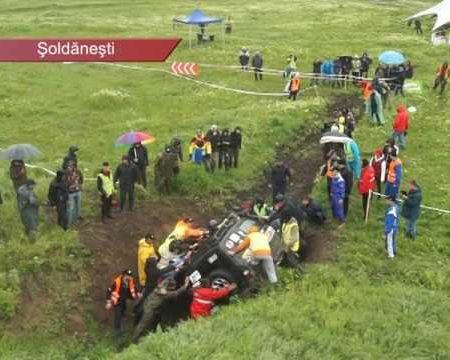 Automobile de teren pe câmpul de luptă, la Șoldănești
