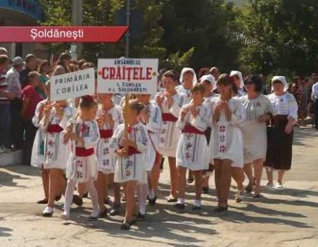 27 august la Șoldănești. Parada INDEPENDENȚEI