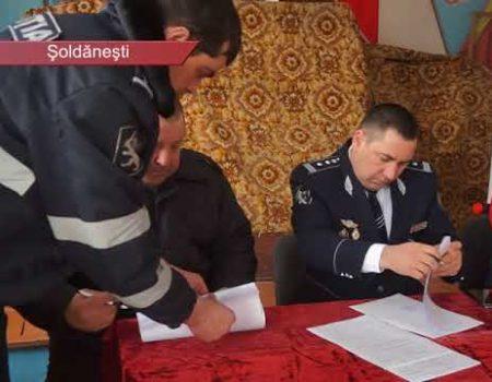 Șeful poliției din Șoldănești, plecat în concediu de paternitate