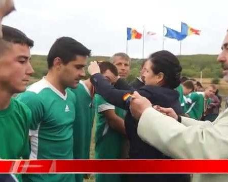 Cupa președintei raionului la fotbal pleacă la Poiana