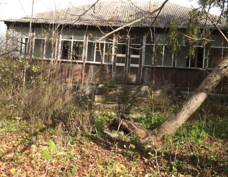 MOLDOVA+ Anterior spital raional, actualmente – ruine