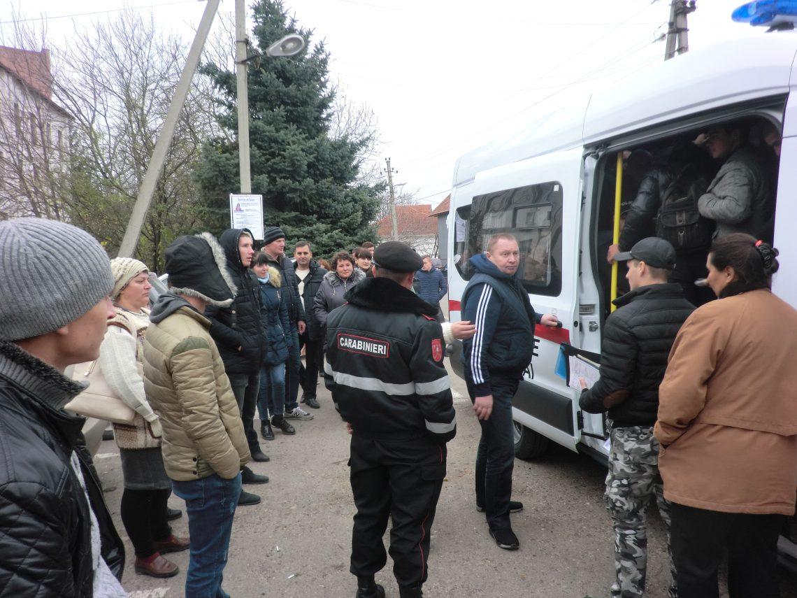 13 recruţi din raionul Şoldăneşti, deja încorporaţi
