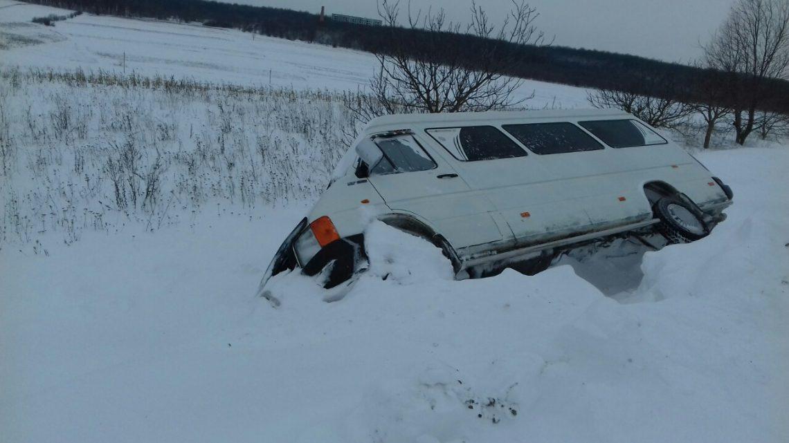 A nins peste Șoldănești. Avem zăpadă multă, dar și dificultăți destule (video)