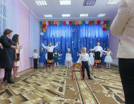 Bibliotecă și sală pentru sport, la grădinița de copii