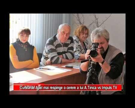 Curtea de Apel Chișinău mai respinge o cerere a lui Alexandru Tinica vs Impuls TV