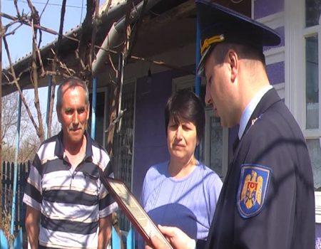 Mulțumire de la ministrul Alexandru JIZDAN pentru o familie din satul Olișcani