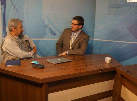Gavin D. PIERCY, atașat pentru presă, Ambasada SUA în Moldova, la Impuls TV