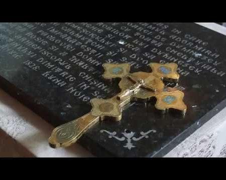 Pașaportul bisericii din Pohoarna, tradus și sfințit după decenii de la confecționare