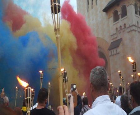 Flacăra UNIRII, lansată la Alba Iulia