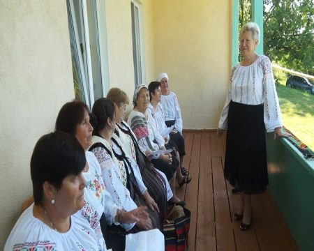 Bătrânețe activă, la Samașcani