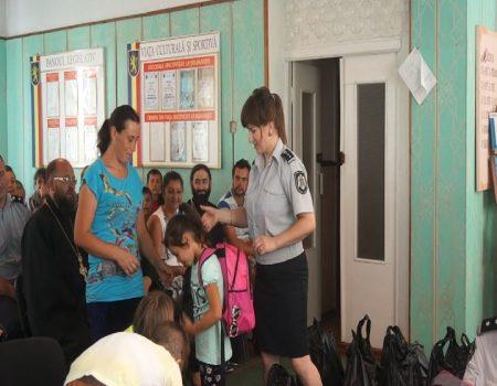 Poliția implicată în lichidarea abandonului școlar