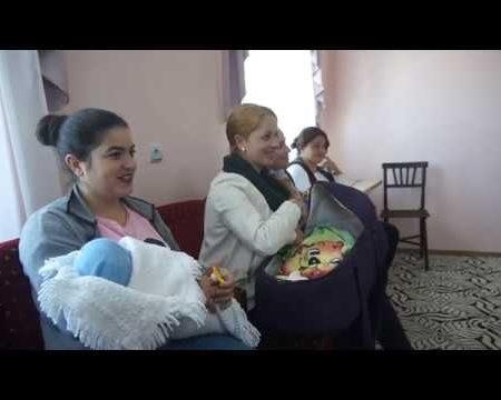 Cadouri pentru nou-născuți, la Cotiujenii Mari