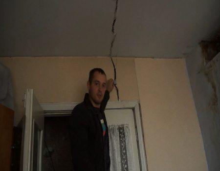 Periculoasă casa cu fisuri