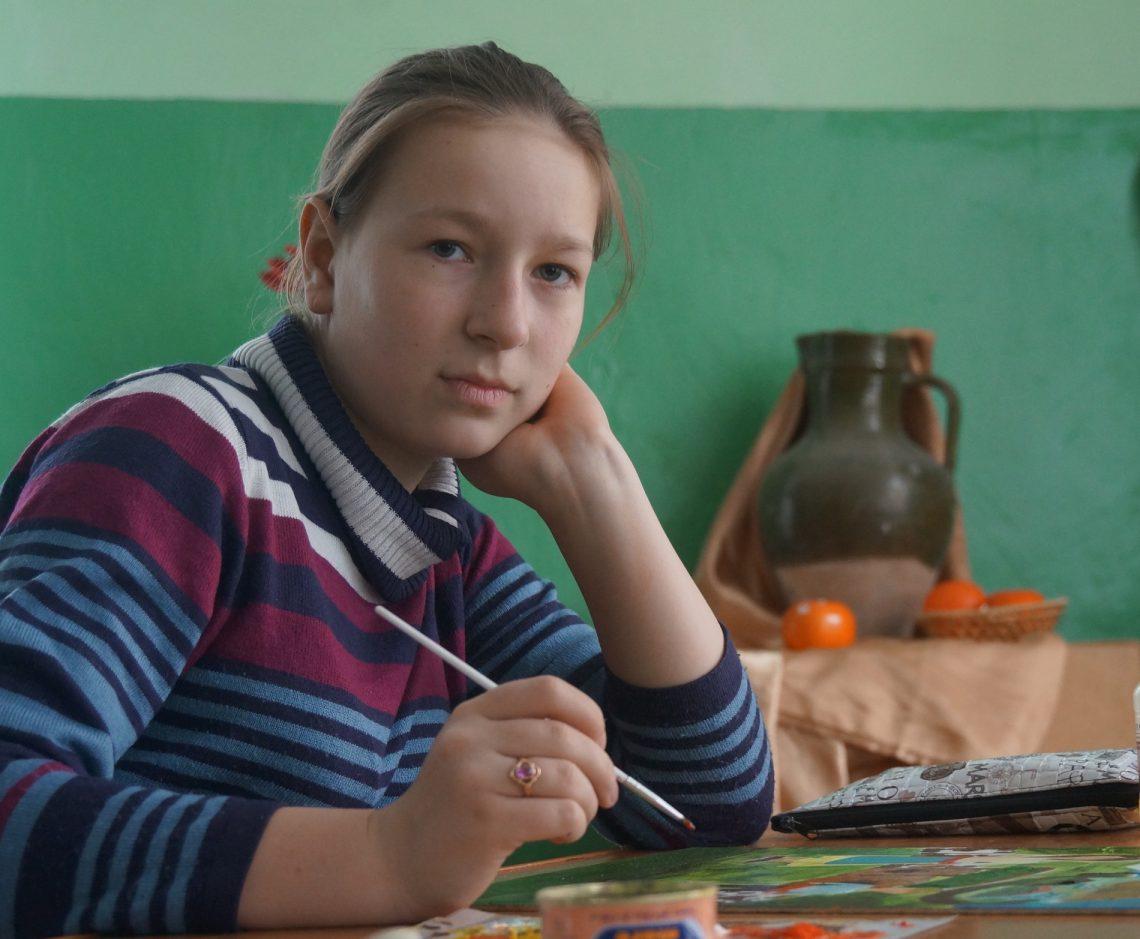 Primul loc pentru Maria BODIU, la Краски Днестра