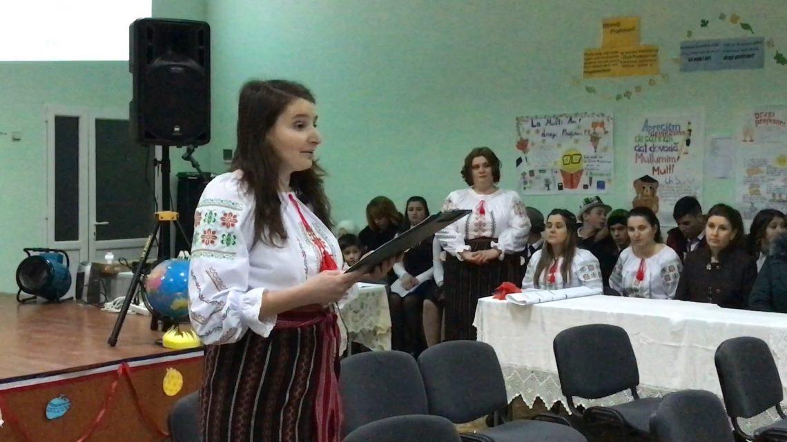 Amintirile duc spre școala din Olișcani, satul în care m-am născut