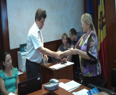 La Șoldănești, concurenții electorali raionali au fost legitimați