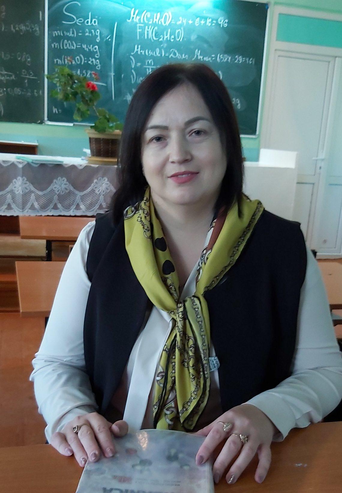 Nadejda Rotari – masteră în ştiinţe ale educaţiei