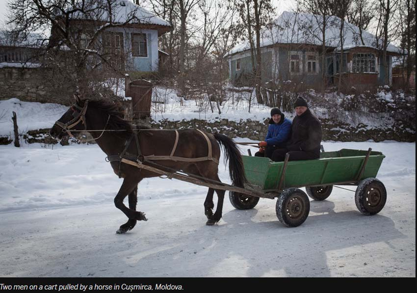 Fotograf din Spania, premiat pentru imagini cu realități moldave