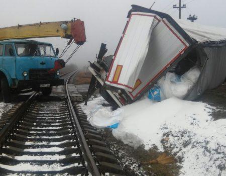 Ciocniri la calea ferată, la Rogojeni