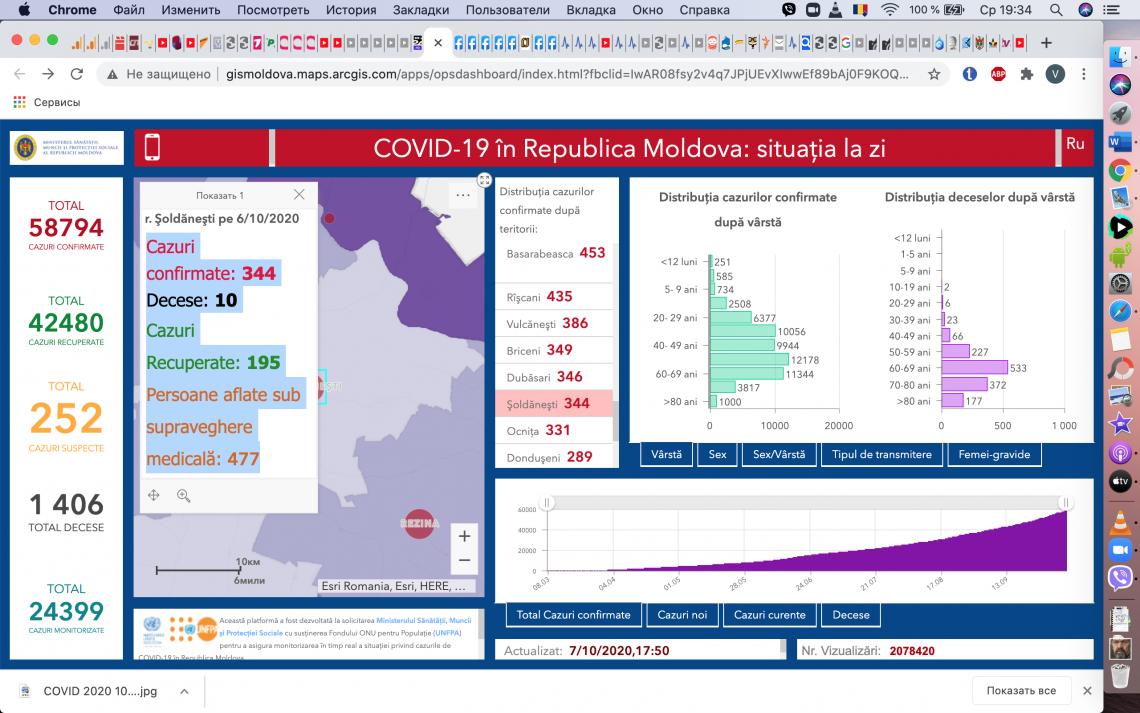 Mai mulți medici testați pozitiv cu COVID-19