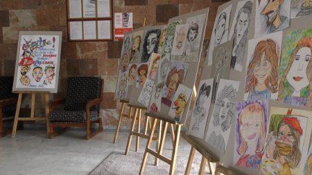 Expozitție de caricatură, găzduită de Consiliul raional