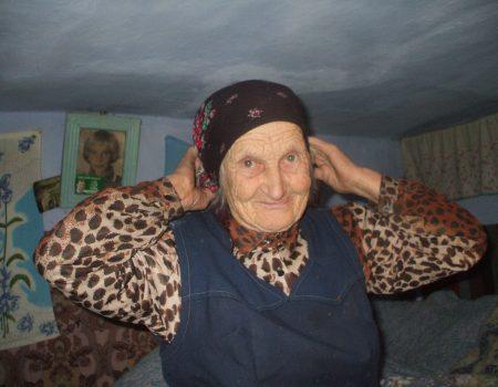 Ecaterina Grăjdeanu, din satul Olișcani, a rotunjit 100 ani